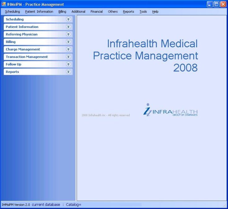 Infrahealth® Inc. Practice Management