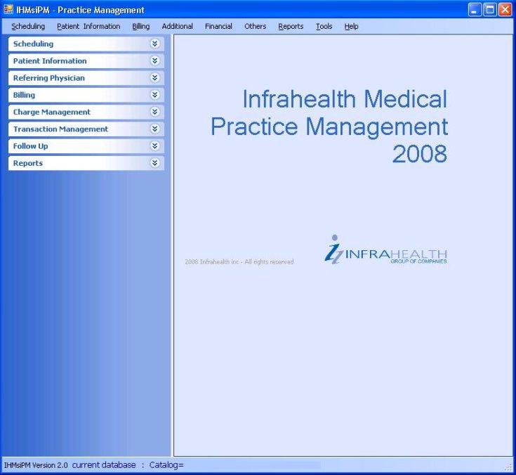 Infrahealth® Inc. Practice Management